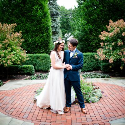 A Backyard Commitment Ceremony — Emily and Mike