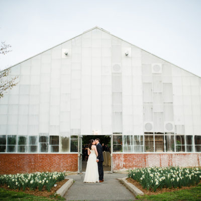 A Horticulture Center Wedding — Anna and Ben