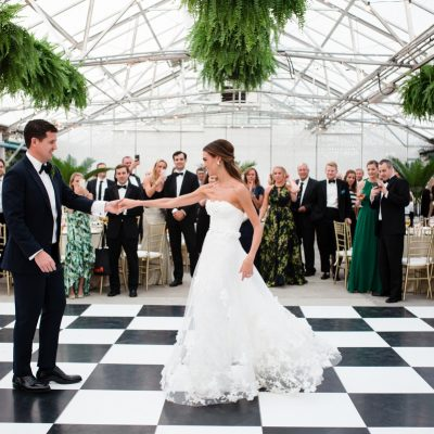 A Horticultural Center Wedding — Courtney and Jason