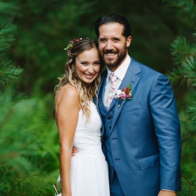A Camp Timber Tops Wedding — Emma and Dave
