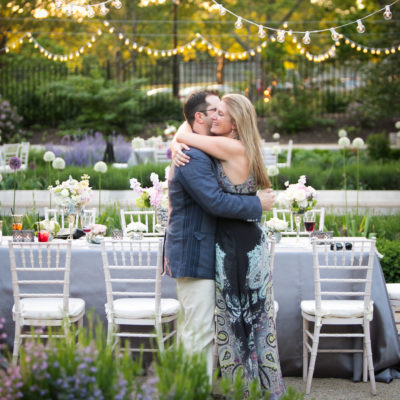 Rehearsal Dinner at the Rodin Museum