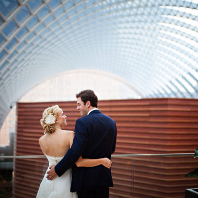 Kimmel Center Wedding — Sarah and Patrick by Grace