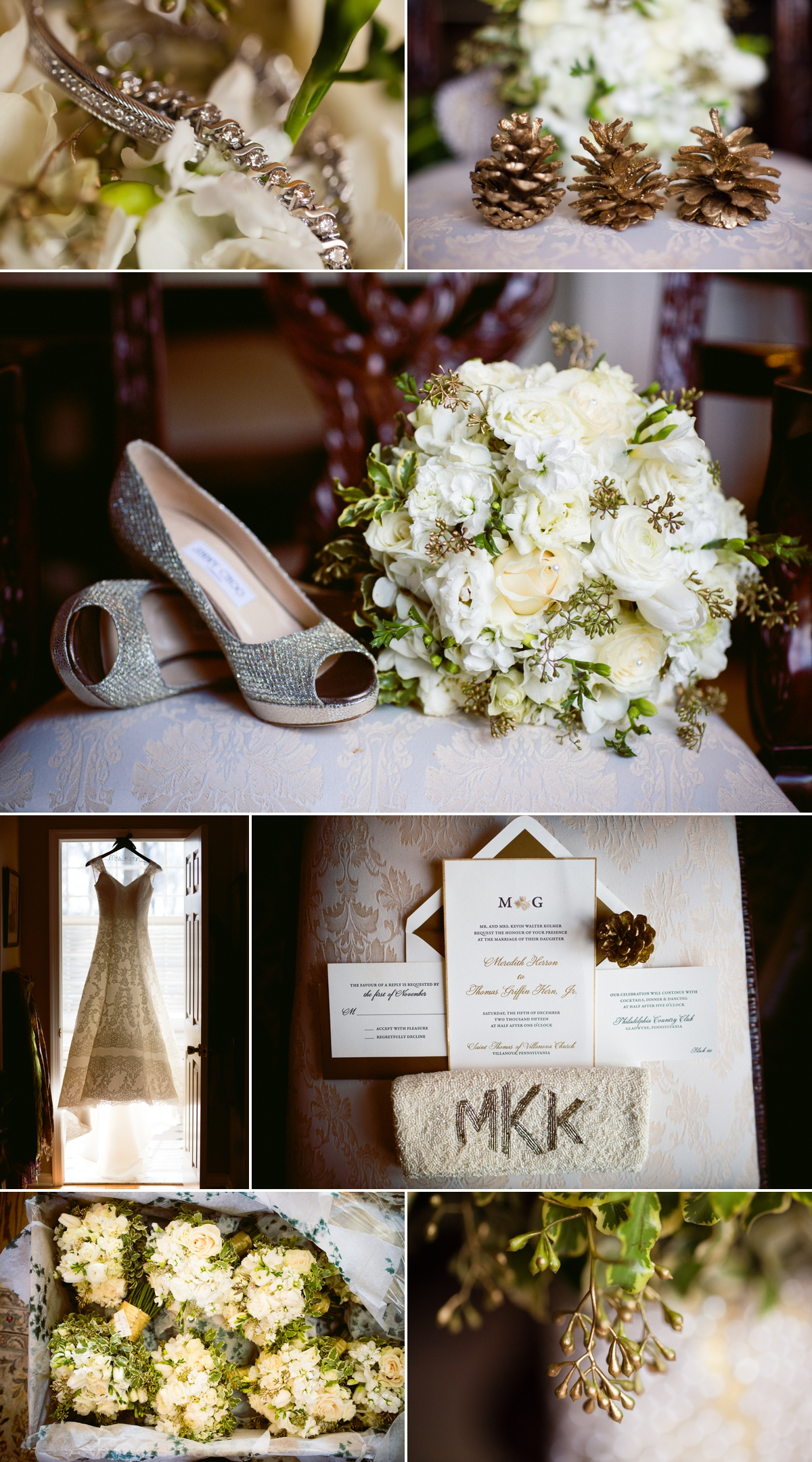 A Philadelphia Country Club Wedding Meredith And Griffin March 4 2016