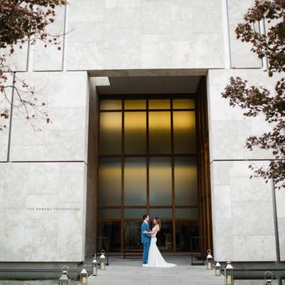 A Barnes Foundation Wedding — Julia and Evan