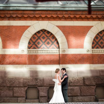 A Horticultural Center Wedding — Christine and James