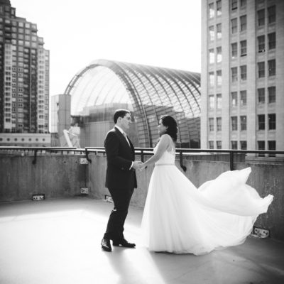 A Kimmel Center — Allison and Chris