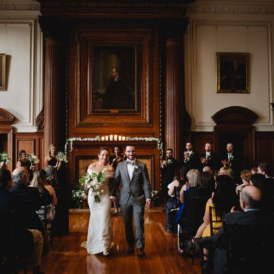 A College of Physicians Wedding — Emma and Eric